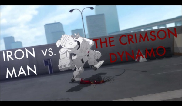 iron man v crimson dynamo