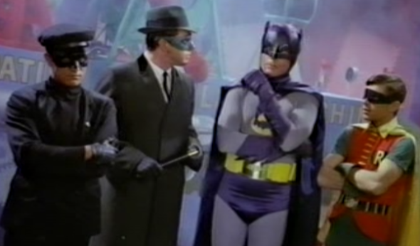 Batman vs. the Green Hornet: The Battle of the 60s TV ...