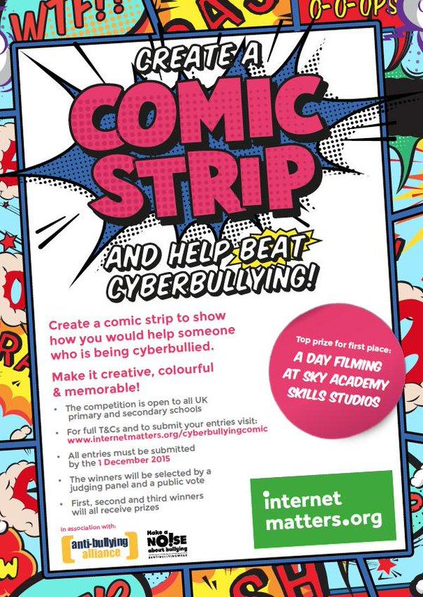 IM Comic Strip Comp Poster