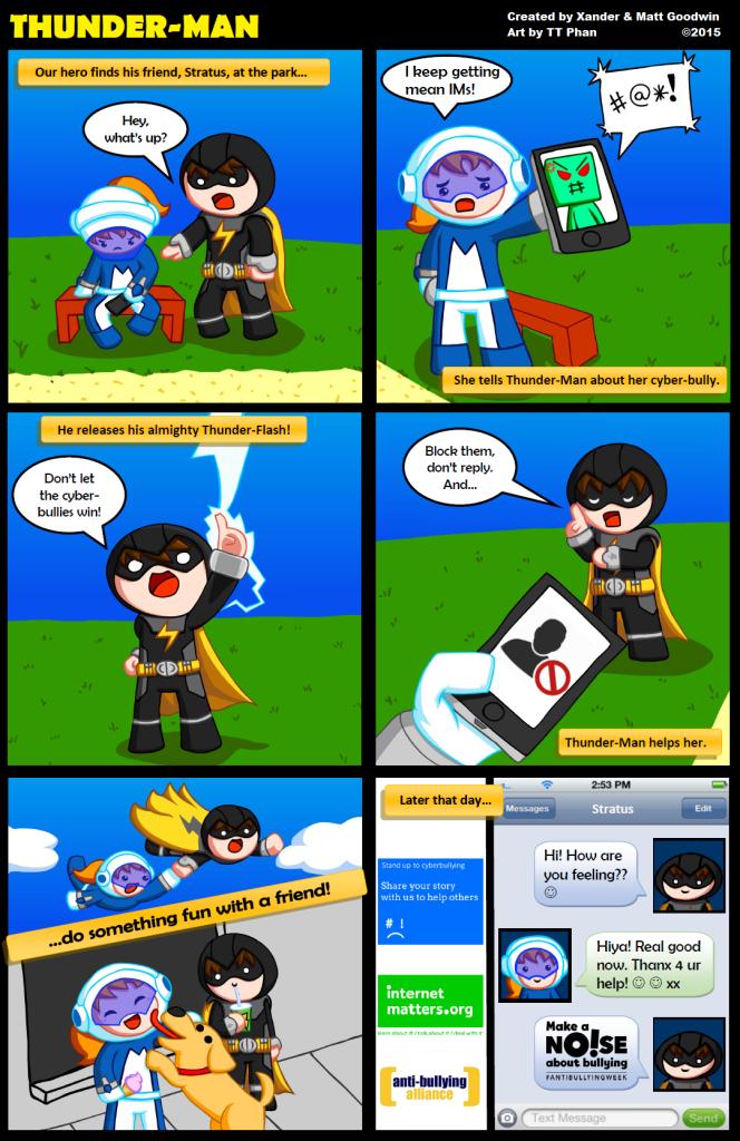 Internet Matters TM comic