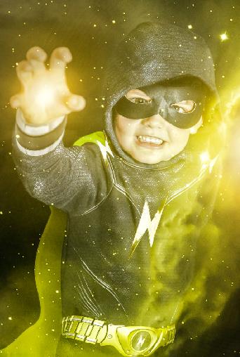 Xander as Thunder-Man