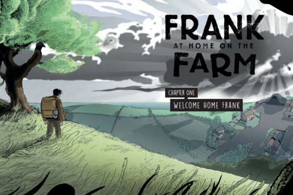 Artwork from Frank at Home on the Farm