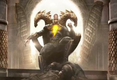 Black Adam teaser trailer image
