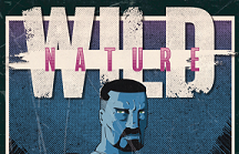 "The ""Wild Nature"" logo and protagonist Cy Swan"
