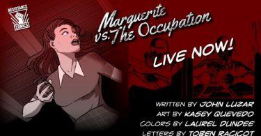 Marguerite vs the Occupation promotional art