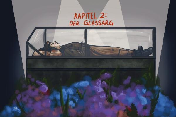 Artwork from Hans Vogel is Dead Vol 1